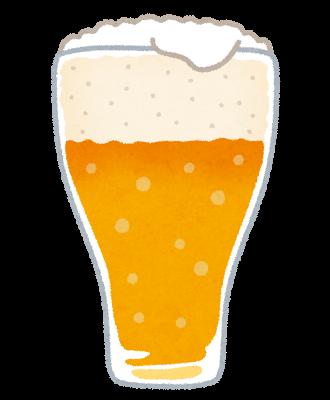 ビールのしみ抜き
