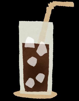 アイスコーヒーの染み抜き