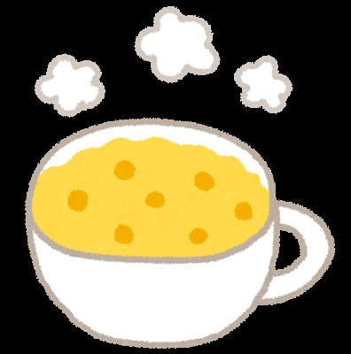 コーンスープのしみ抜き