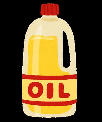 食用油のしみ抜き