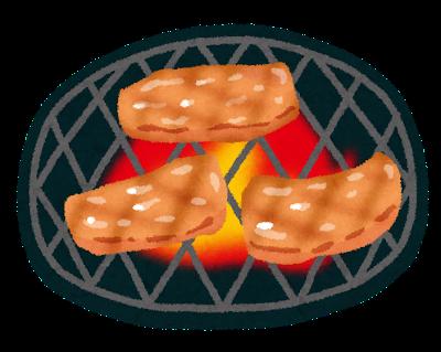 焼肉のシミ