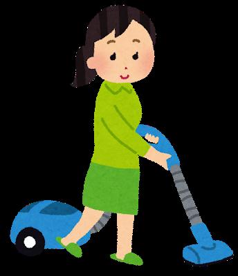 花粉対策、掃除機