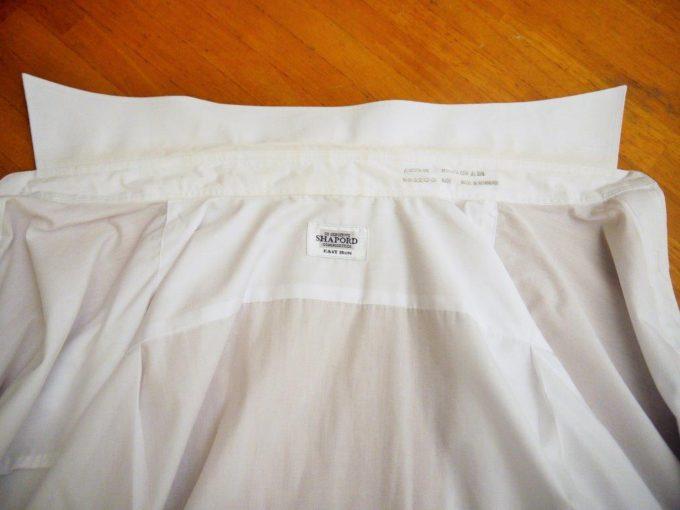 黄ばんだワイシャツを白くする