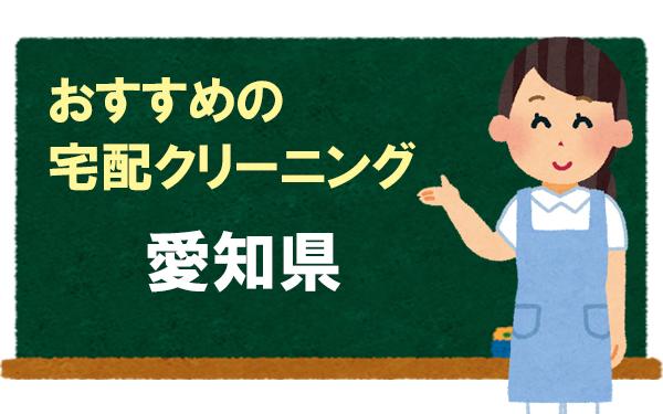 愛知県、おすすめの宅配クリーニング