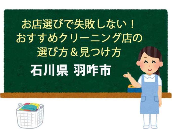 石川県羽咋市、宅配クリーニング