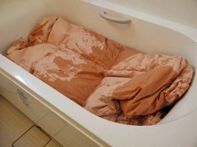羽毛布団の洗い方
