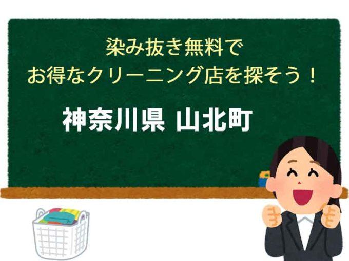 神奈川県山北町、宅配クリーニング
