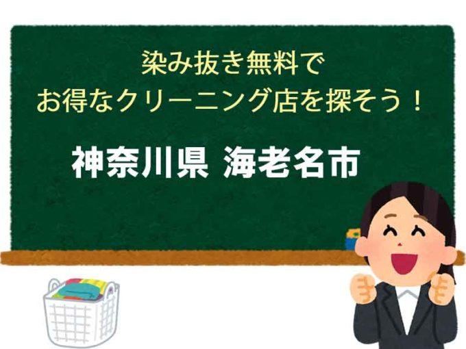 神奈川県海老名市、宅配クリーニング