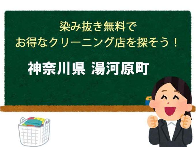 神奈川県湯河原町、宅配クリーニング